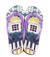 Luckers Girls New Dawn Rose Flip Flops