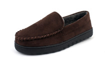 Suede Fleece Lined Loafers