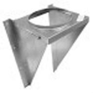 "8T-WSK Selkirk Metal Best Ultra Temp Wall Support Kit in 8"" diameter"