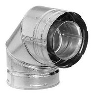 DuraVent DirectVent Pro 90 Deg Galvanized Swivel Elbow - 58DVA-E90