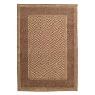 "72074 31"" x 45"" Olefin Contemporary Rug, Woodstock Flax"