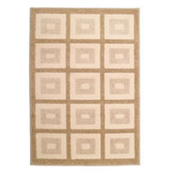 "72070 31"" x 45"" Olefin Contemporary Rug, Treasure Chest Driftwood"