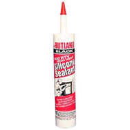 RUTLAND 500 Degree F RTV High Heat Silicone Sealant - 10.3 fl oz Black