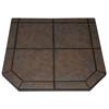 "American Panel Tartara Tile Stove Board, Single Cut Corner, 40"" x 40"""