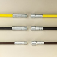 "3573274 .440"" Professional Chimney Rod 6' Black-3/8"" Pt"