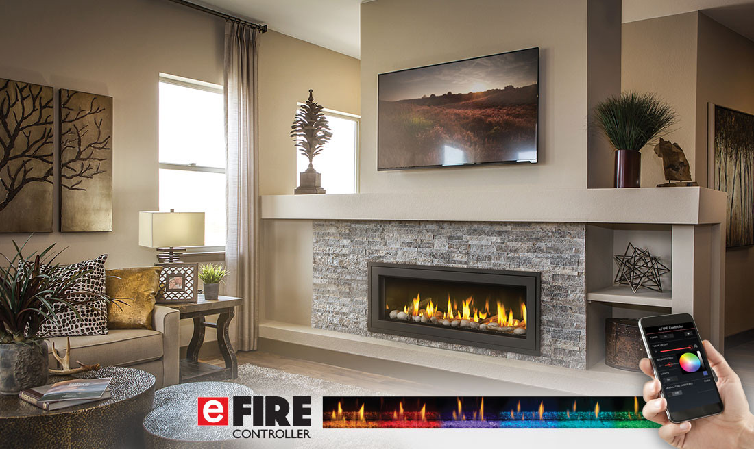 Napoleon Vector Lv50n Linear Direct Vent Gas Fireplace