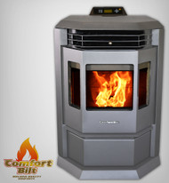 ComfortBilt HP22 Pellet Stove Charcoal Grey