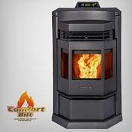 Comforbilt HP22-N Pellet Stove 80 lbs. hopper capacity Black