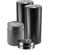 "DuraVent DVL® Double-Wall Stove Pipe 6"" Diameter Close Clearance Connector Kit 6DVL-KVP"