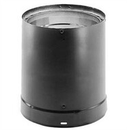"""DuraVent DVL® Double-Wall Stove Pipe 7"""" Diameter x 6"""" Length 7DVL-06"""