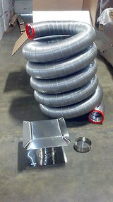 "25' Fireplace Chimney Liner Kit Available In 3"" Diameter"