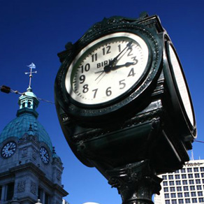Birks Clock, Downtown Vancouver