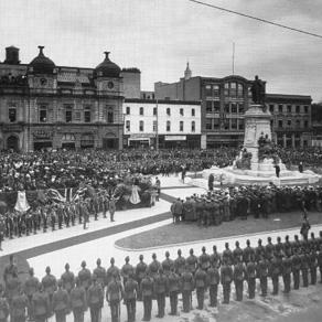Kind Edward Monument Dedication 1914