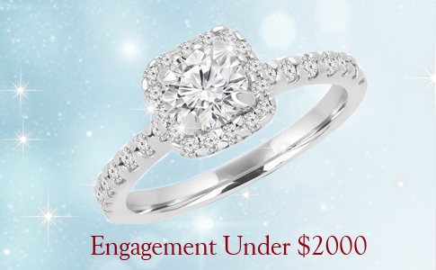 affordable engagement rings for under 2000$ 2017