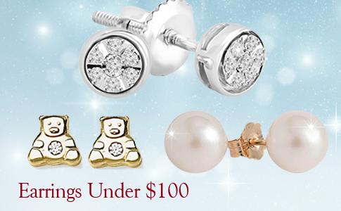 earrings for under 100$ 2017