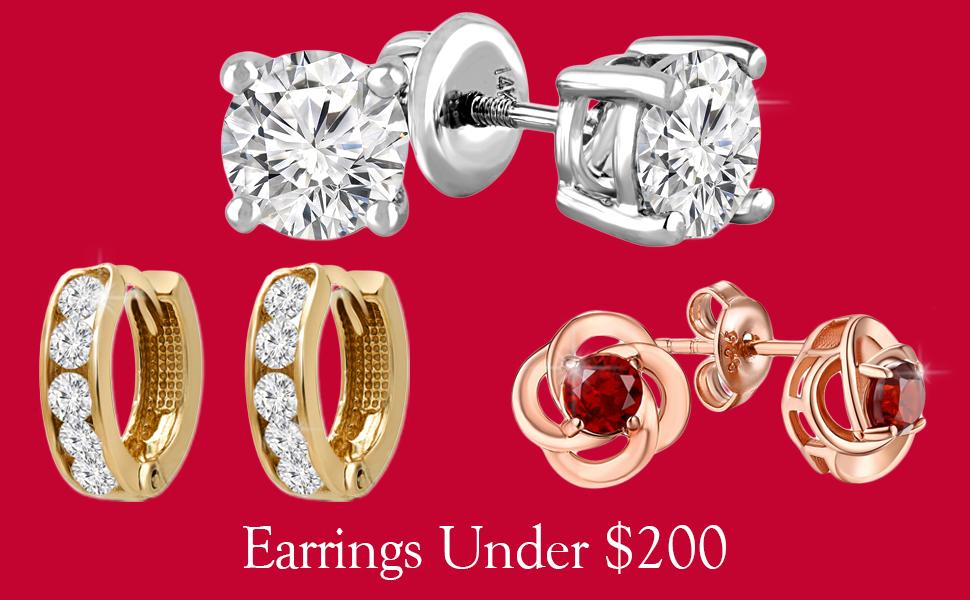 Earrings under 200$