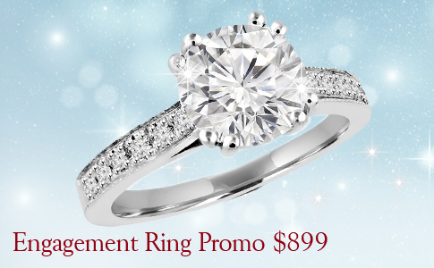 promotional engagement ring for 899$