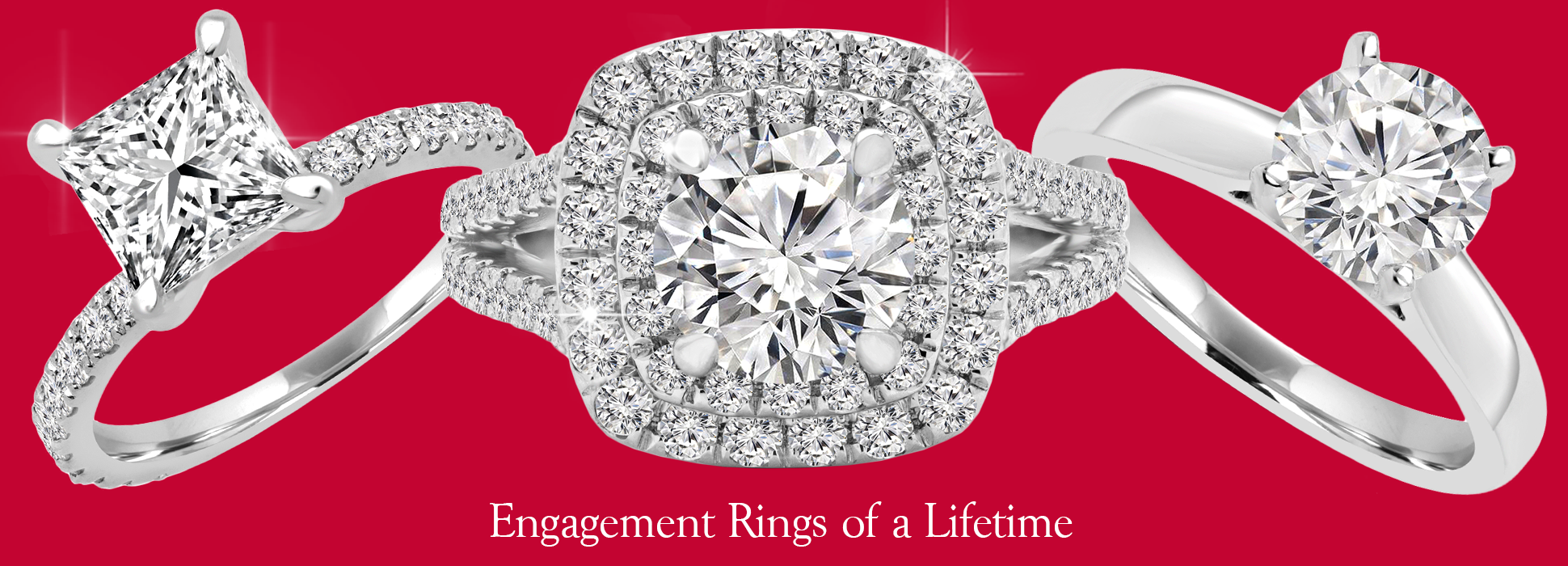 once in a lifetime engagement rings