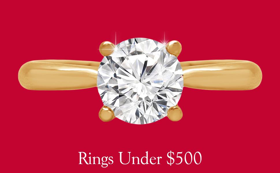 rings under 500$