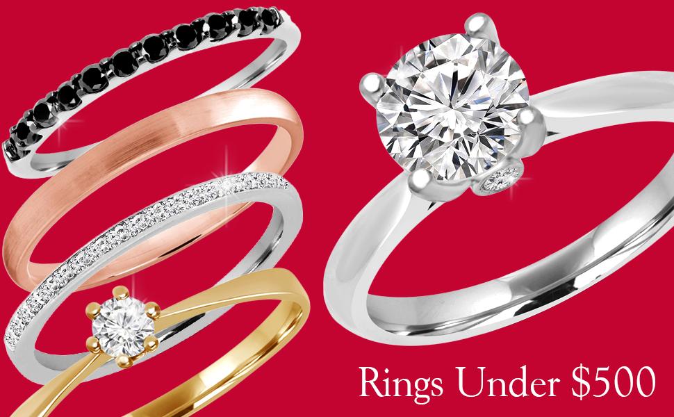 rings under 300$