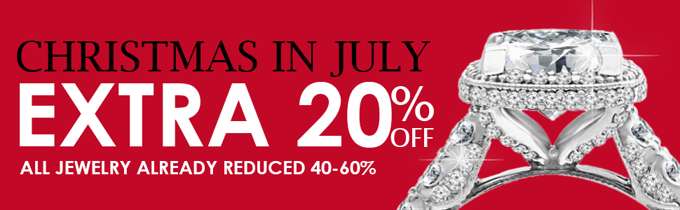 xmas all jewelry additional 20% discount july