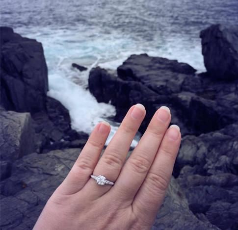 Ocean side Proposal! - Christy S. - 2016