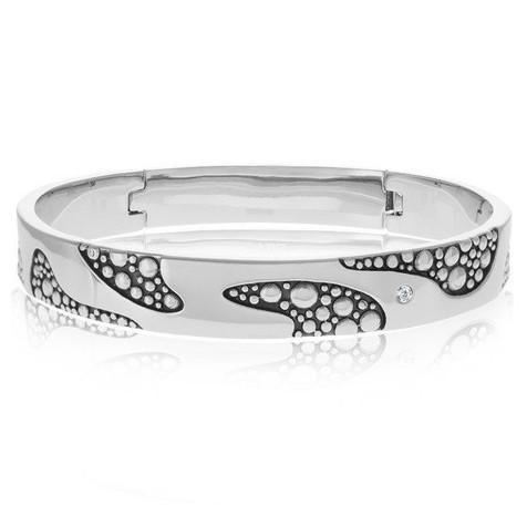 Men's Steel Bubbly Collection Bracelet (MVA0093)