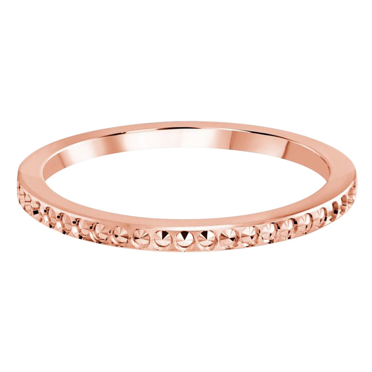 1.5 MM dot design rose gold matching band (MDVB0492)