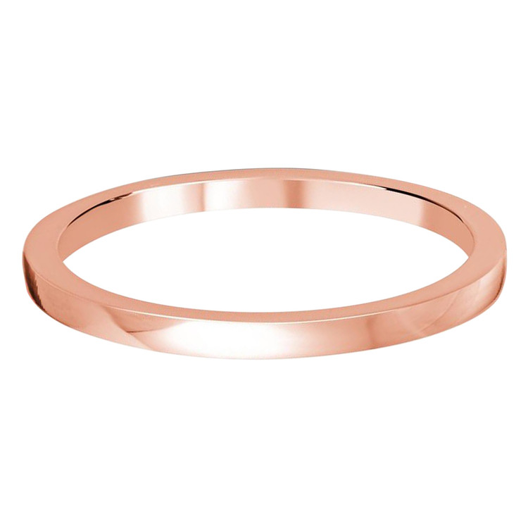 1.5 MM flat rose gold matching band (MDVB0501)
