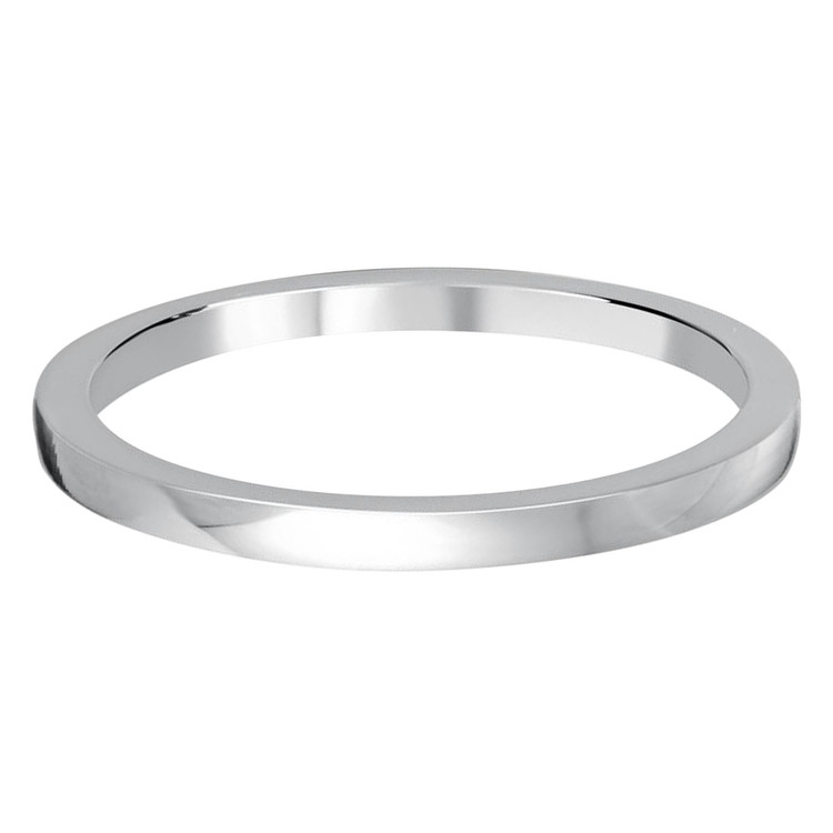 1.5 MM flat white gold matching band (MDVB0502)