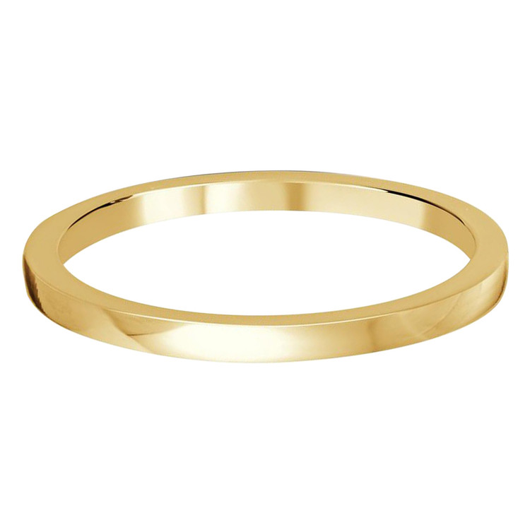 1.5 MM flat yellow gold matching band (MDVB0503)
