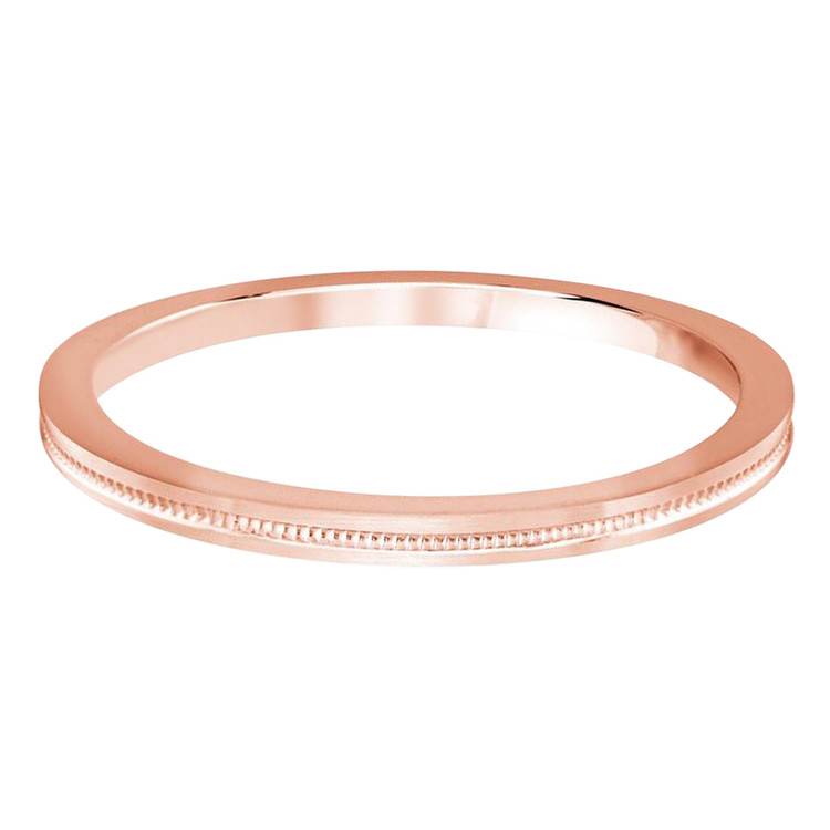 2 MM dot design rose gold matching band (MDVB0513)