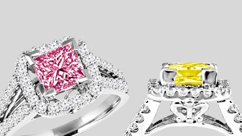 colored diamonds 2017