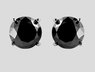 colored diamond earrings 2017