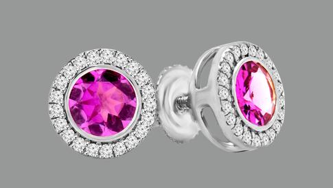 gemstone earrings 2017