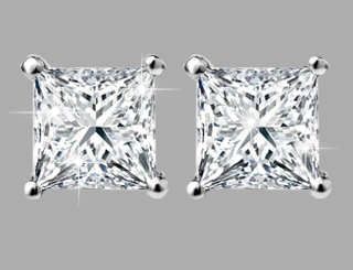 princess diamond studs 2017