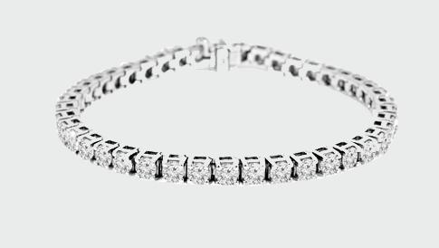 round diamond bracelets 2017
