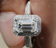 Emerald Cut Diamonds Assessment Chart Guide In-depth Information