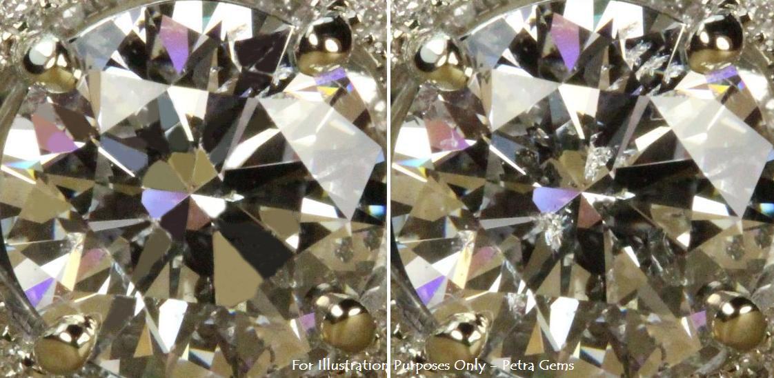 Clarity Enhanced Diamond