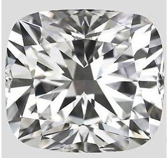 cushion modified brilliant cut diamond