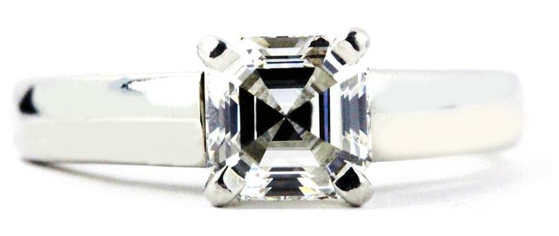 Asscher Cut Diamond Cut
