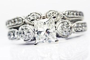 Unique Princess Cut Set