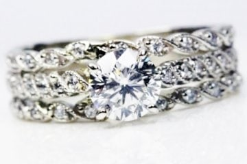 Antique Round Diamond Set