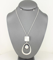 Freshwater Pearl Pendant Necklace Set