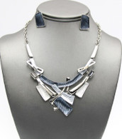 Art-Deco Necklace Set