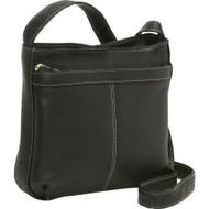 Zip Pocket Shoulder Bag