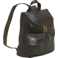 Distressed Leather Womens Back Pack/Purse