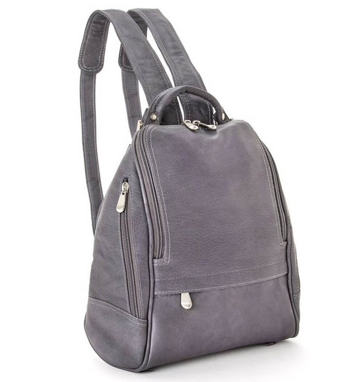 7eec8b8350 Le Donne Leather Zip Around Backpack Purse