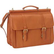 Classic Dowel Rod Laptop Briefcase