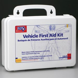 Windshield Wipers & First Aid Kits